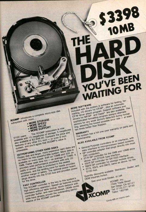 10MB Hard Disk