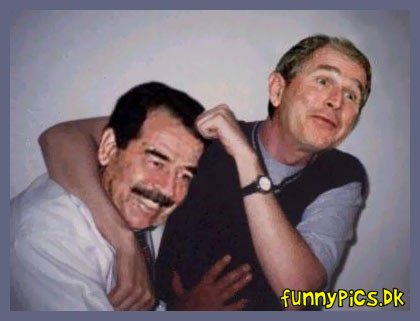 Saddam And Bush