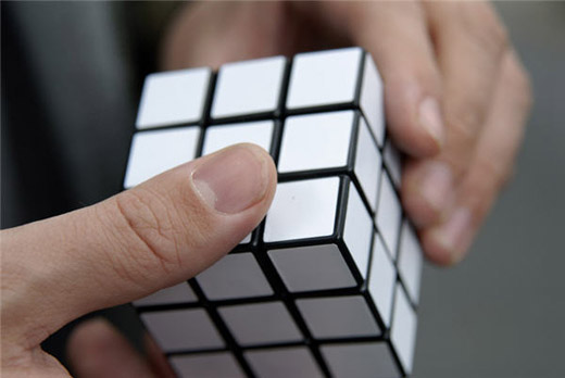 Lazy Rubiks Cube