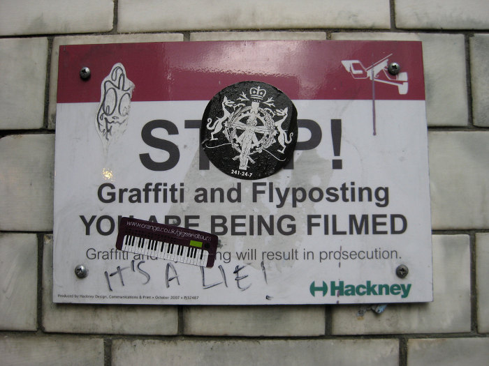 Graffiti Lie
