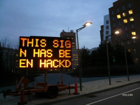 Hacked Sign 1